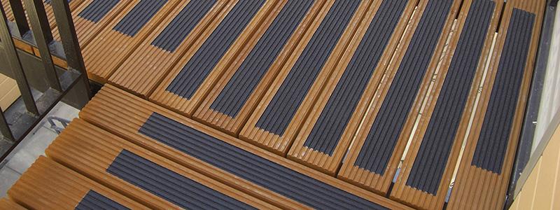 Antislip coating op de trap